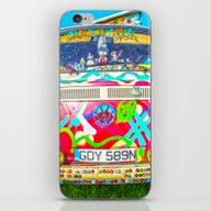 Living The Dream - Vinta… iPhone & iPod Skin