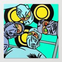 COBRADRELLA- La Peur D�… Canvas Print