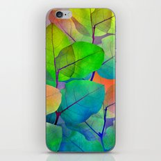 Translucent Leaves iPhone & iPod Skin