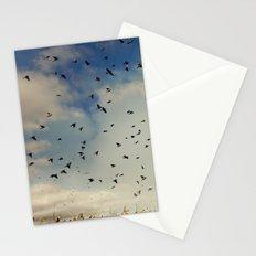 Harvest birds Stationery Cards