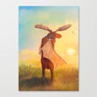 Wistful Canvas Print