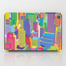 Cityscape windows iPad Case