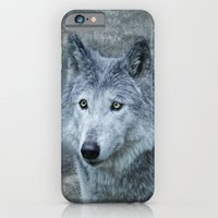 iPhone & iPod Case featuring le loup gris by Jo.PinX