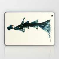 Vintage Vogue - Diesel Blue Fashion Dress Laptop & iPad Skin