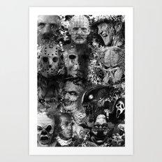 Horror Art Print