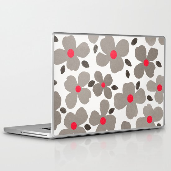 Dogwood Grey Laptop & iPad Skin
