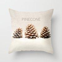 Pinecone Throw Pillow