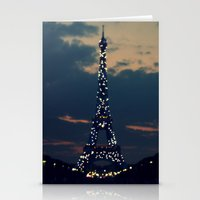 Beacon (Eiffel Tower) Stationery Cards