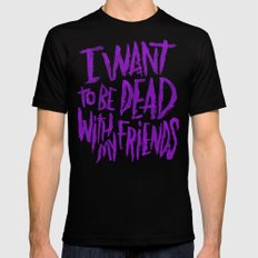 EVERY TIME I DIE Black SMALL Mens Fitted Tee