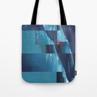 Cracking Waves (Distant … Tote Bag