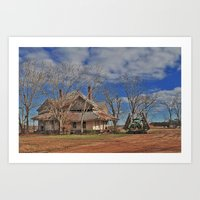 Out On The Farm Art Print