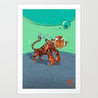 Astro Zodiac Force 03: T… Art Print
