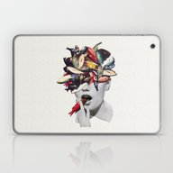 Laptop & iPad Skin featuring Ωmega-3 by Eugenia Loli