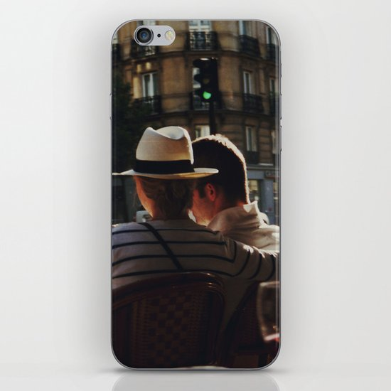Lovers in Paris iPhone & iPod Skin