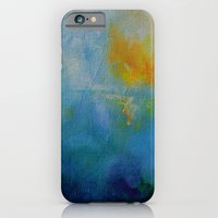 iPhone & iPod Case featuring mountain mist by Katy Hands