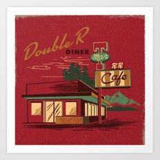 DOUBLE R DINER Art Print