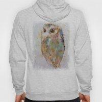 Owl Painting Hoody
