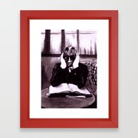 The Invisible Man Framed Art Print