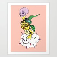 Lakitu In The Sky With Z… Art Print