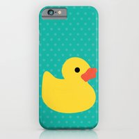 iPhone & iPod Case featuring Duck it ! by Catalin Anastase