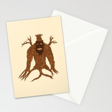Tree Stitch Monster Stationery Cards