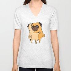 Pug Hugs Unisex V-Neck