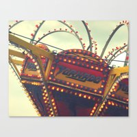 Vintage Carnival ~ The T… Canvas Print