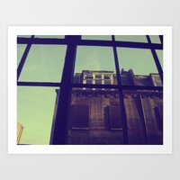 London Window Art Print