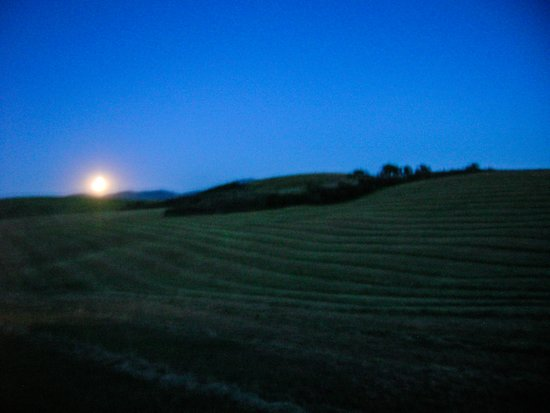 Idaho Moon Art Print