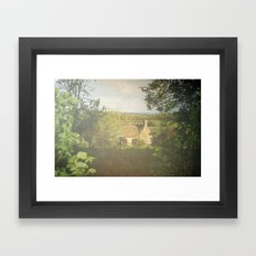 Sunday Cottage Framed Art Print