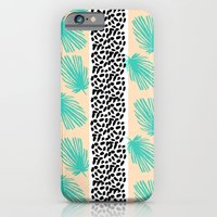 Palm Leaf Abstract iPhone 6 Slim Case