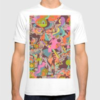 Schema 14 Mens Fitted Tee White SMALL