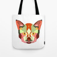this is a cat. Tote Bag