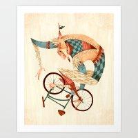 Speed Demon Art Print