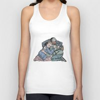Stranger Things Hug Unisex Tank Top