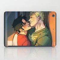 William And Theodore 11 iPad Case