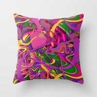 Passion Fruit Throw Pillow