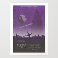 Return of the Jedi Movie Poster Art Print