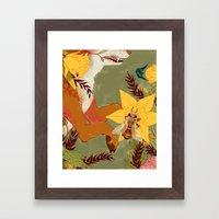 In Our Grandmother's Gar… Framed Art Print