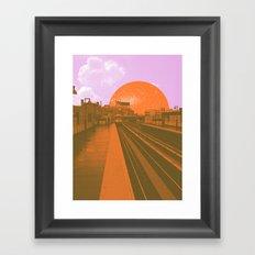 TRANSPORT #3 Framed Art Print