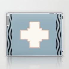 Cross tribal wave Laptop & iPad Skin