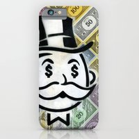 iPhone & iPod Case featuring Another Day - Another Dollar by FAMOUS WHEN DEAD