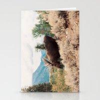 Moose 2 Stationery Cards