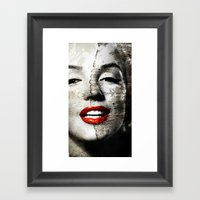Marilyn Monroe - Wall Pa… Framed Art Print