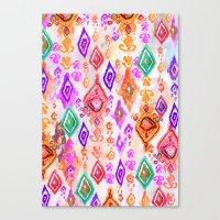 Bali Ikat  Canvas Print