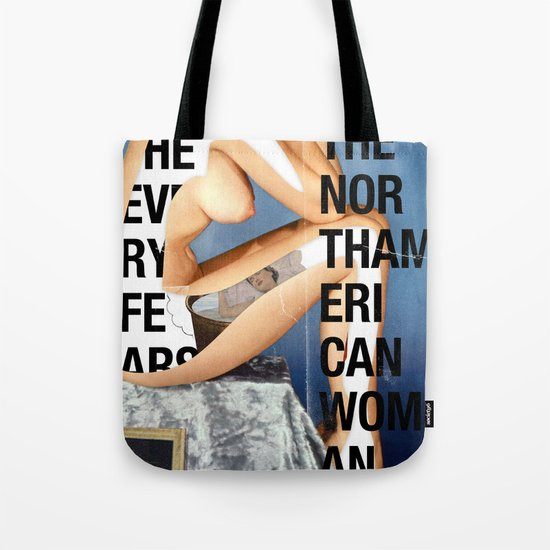 The North American Woman Tote Bag