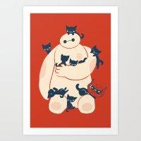Art Print featuring Kittens! by Jay Fleck