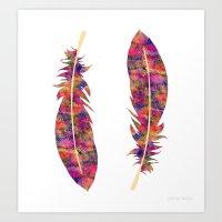 Feather II Art Print
