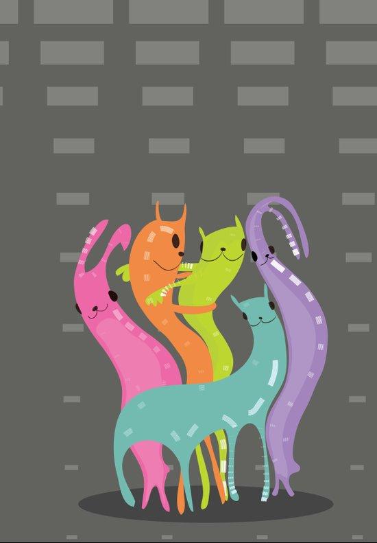 Catbunnies Art Print