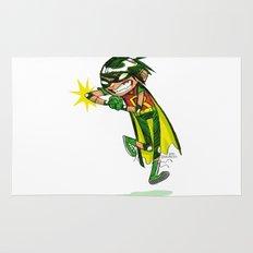 Robin, the Boy Wonder Sketch Rug